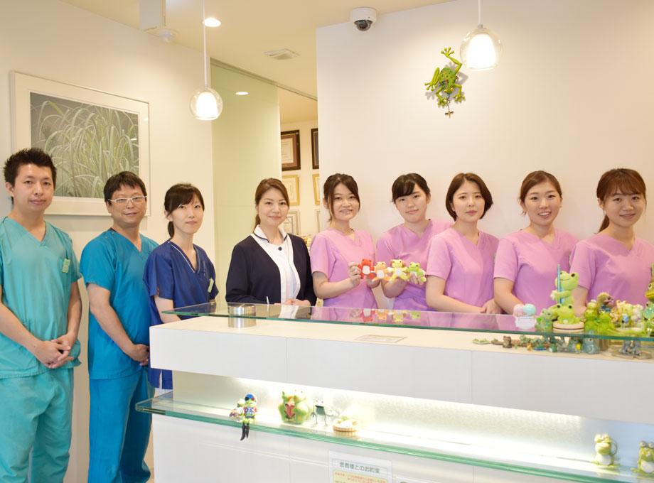 1.院内と同じ品質の歯科治療を提供