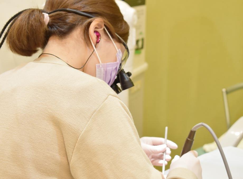 口腔内の機能改善