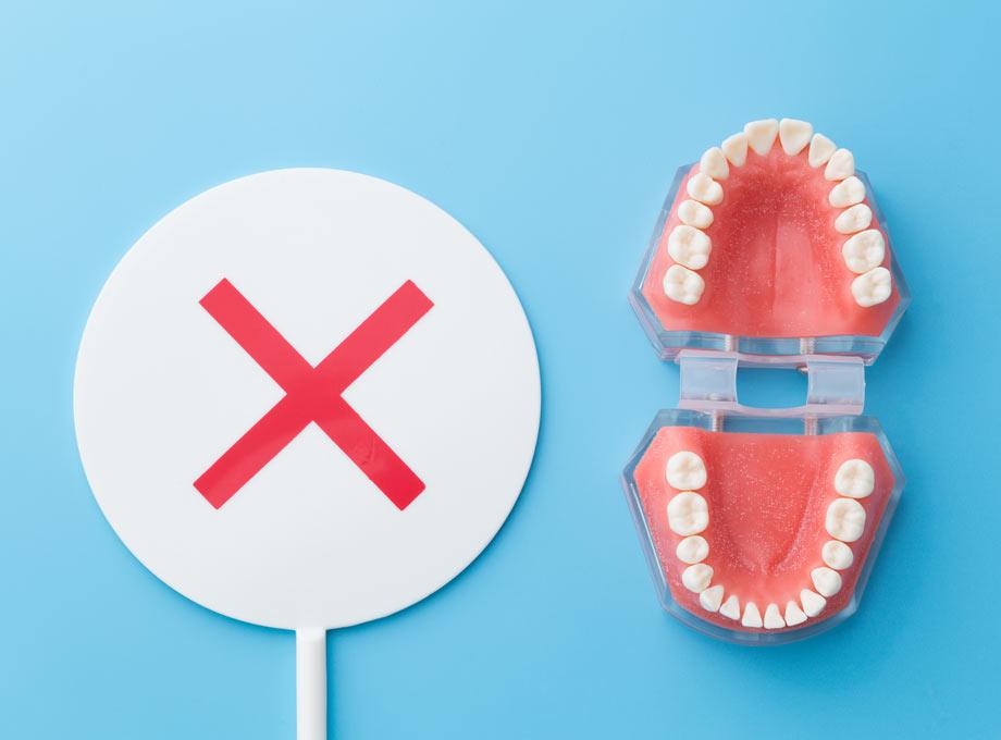 妊娠中は避けるべき歯科治療